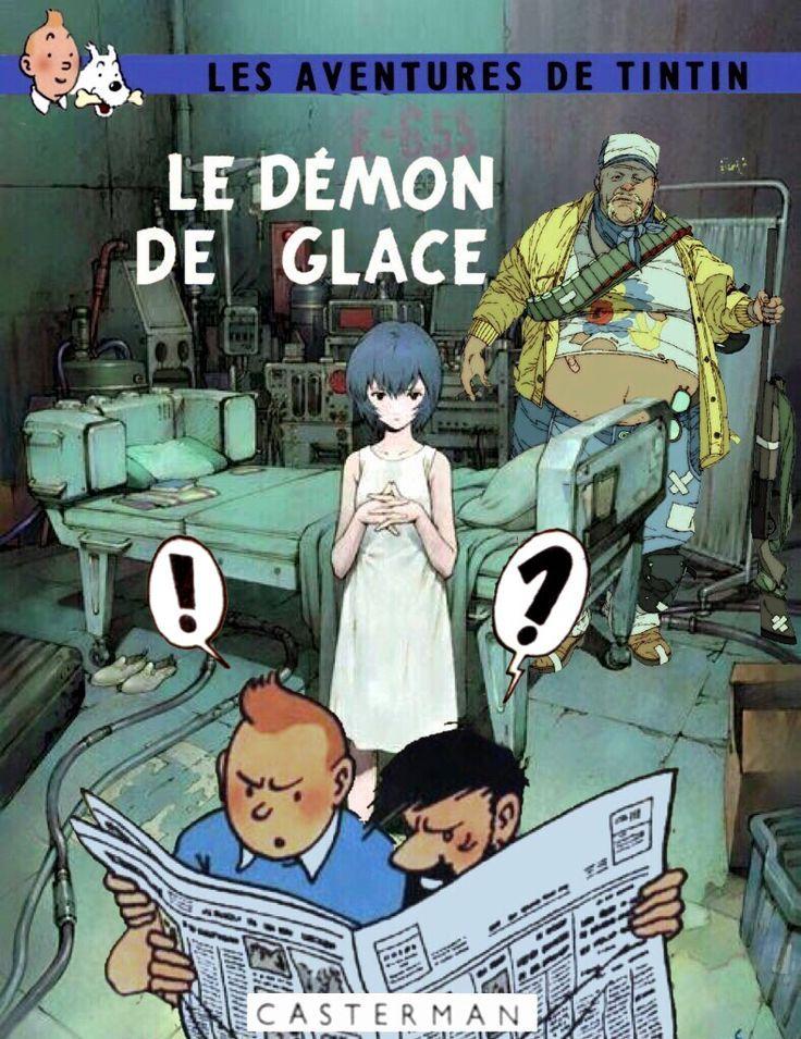 Les Aventures de Tintin - Album Imaginaire - Le Démon de Glace