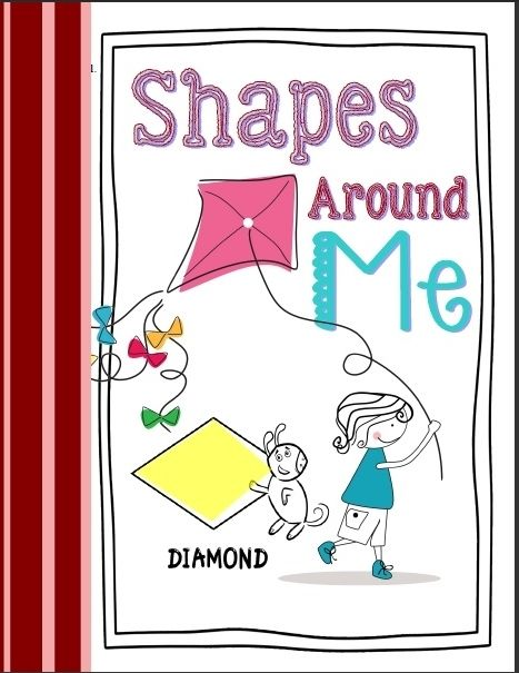 Shapes real world objects shapes around me geometric Make your own 3d shapes online