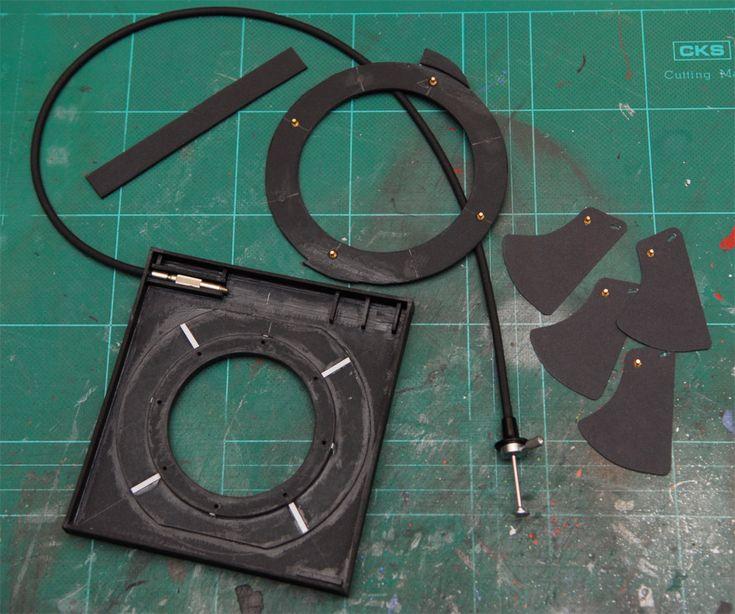 Medium Format Camera Homemade Diy Leaf Shutter