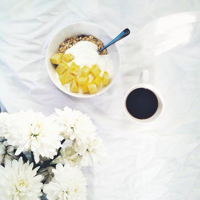 Pineapple coffee morning