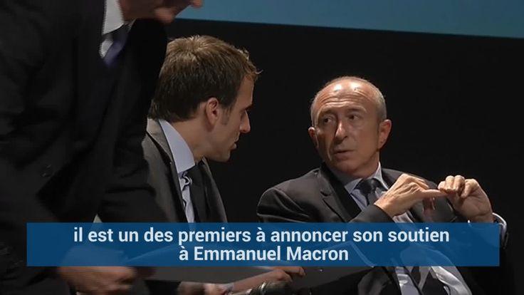 Qui est Gérard Collomb, le nouveau ministre de l'Intérieur