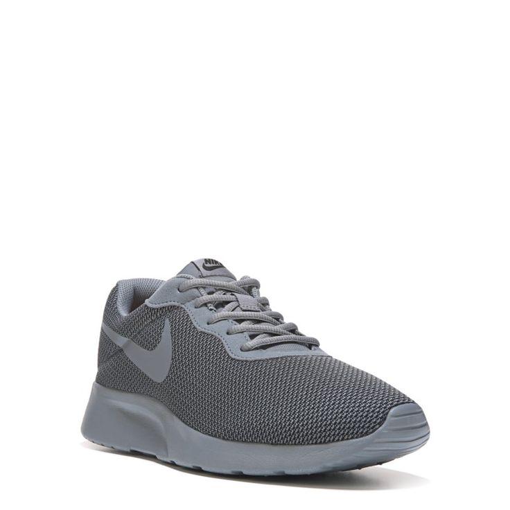 Nike Men's Tanjun Sneakers (Grey Mono)