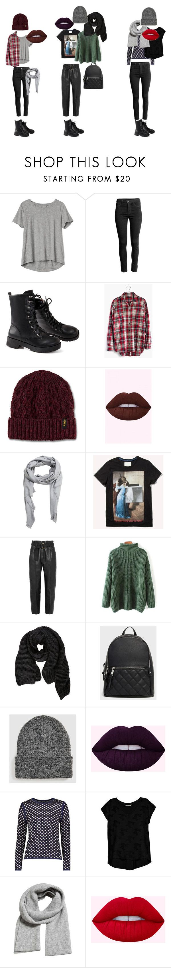 """Berlin1"" by reallifeofmimi ❤ liked on Polyvore featuring Gap, Madewell, Dr. Martens, MANGO, Petar Petrov, FABIANA FILIPPI, YAL New York and Bobeau"