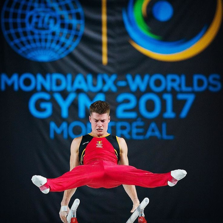 Maxime Gentges of Belgium during the World Gymnastics Championships in Montreal. #MTL2017GYM #sports #gymnastics #gymnastics #stall #flip #cheer #tumble #parkour #freerunning #dance #fit #athlete #athletic #fitnessmotivation #fitness