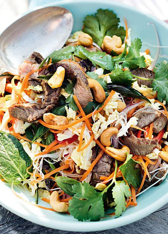 How to make Vietnamese Beef Salad