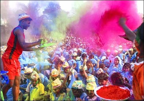 Colours of india.