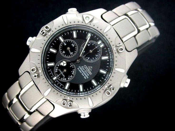 Citizen titanium watch - Barreau nov. 2000