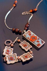 Creative Company | Polimeerklei-projekte: Millefiori-blomhalssnoer  en armband