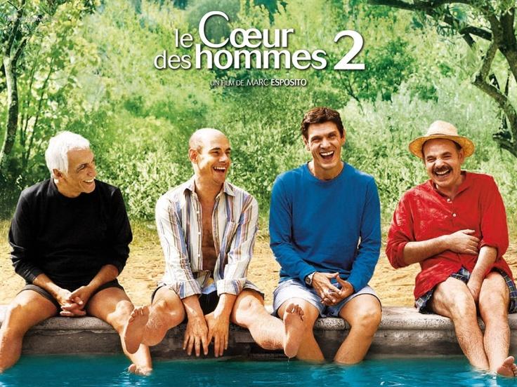 """""""Le coeur des hommes"""" de Marc Esposito, avec Gérard Darmon, Bernard Campan, Marc Lavoine et Jean-Pierre Darroussin"""