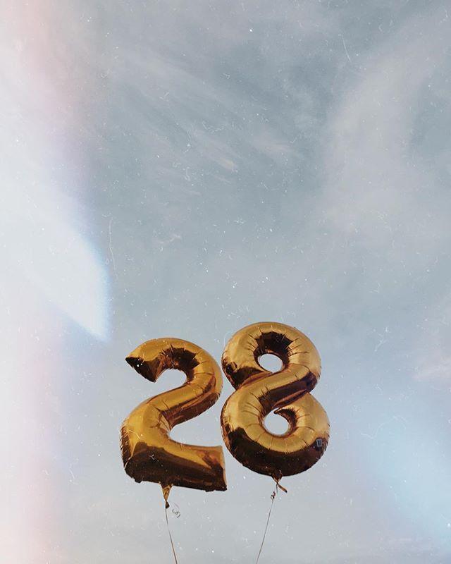 Мне 28 лет поздравления