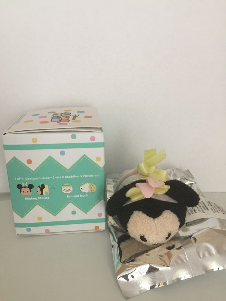 Disney Store Easter 2017 Marshmallow Scented Minnie Mini Tsum Plush New with Box