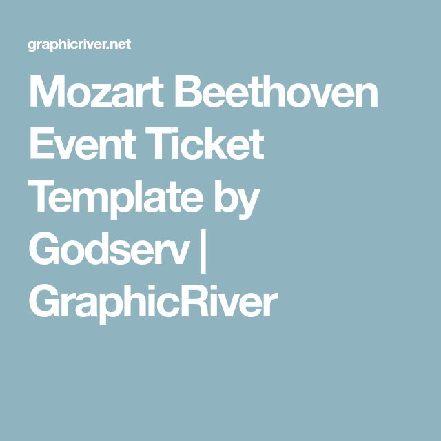 Best 25+ Event ticket template ideas on Pinterest Event tickets - event ticket template word