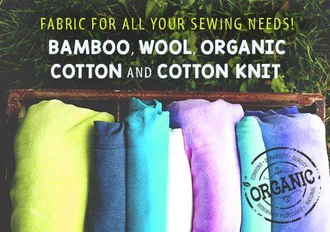 Bamboo Fabric, Natural Organic Bamboo Fabrics Quality organic and natural fabric
