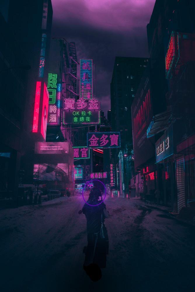 Night City City Life Photography Anime City Night City