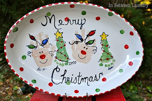 155th Power of Paint Party... Painted Christmas Gift Ideas - Domestically Speaking