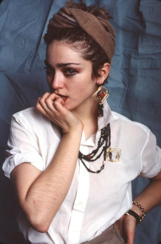 Madonna for Magazine New York, New York, 1982                                                                                                                                                                                 More