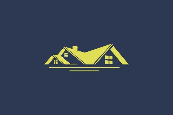 Roof House Simple Logo House Roof Simple Logo Real Estates Design