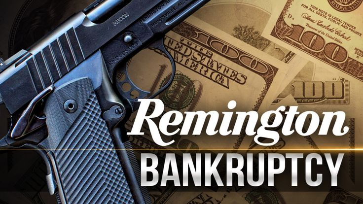 Image result for remington files for bankruptcy