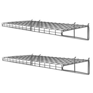 Wall Mounted Wire Shelves Garage