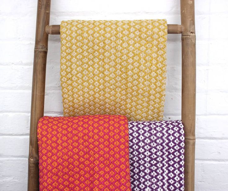 Colourful woven cotton rugs.60cm x 90 cm I £19.50