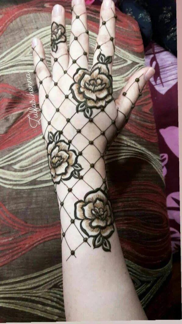 Creative And Unique Mehndi Design Ideas Rose Mehndi Designs Mehndi Designs Henna Designs