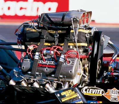 Bill Miller raced a Chevrolet-powered Top Fuel Dragster. For many years, it was the only blown Fontana/Chevy on fuel at National Events.