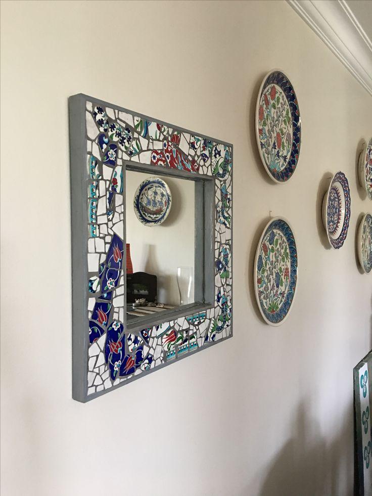My mosaic works By Aylin Öğütçü