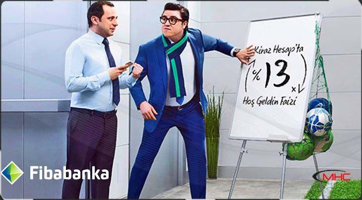 'Fibabanka' İbrahim Büyükak Reklam Filmi | İş Hoca'da |