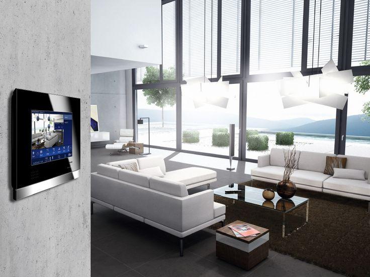 Touch-screen : domotica e supervisione - http://www.habitatsolutions.it/konnex/touch-screen-domotica-e-supervisione/