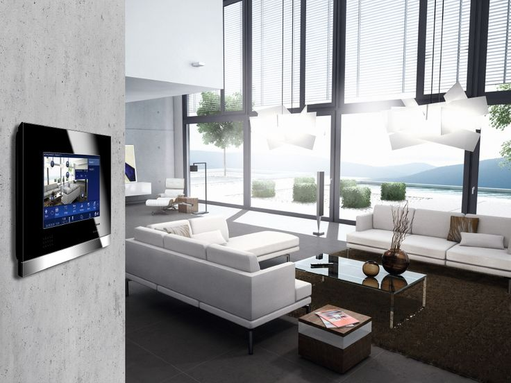 Touch-screen : domotica e supervisione - http://www.habitatsolutions.it/konnex/touch-screen-domotica-e-supervisione/