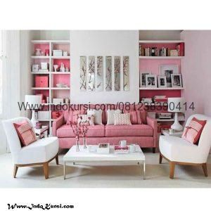 Set Kursi Sofa Full Jok Scandinavian