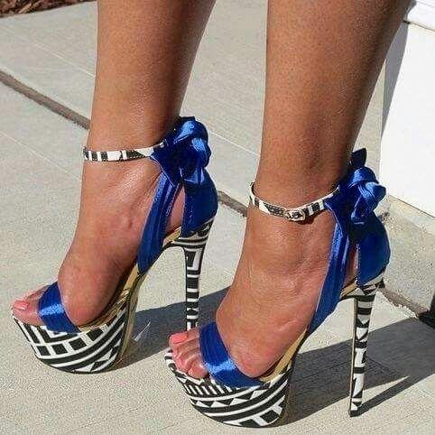 Love the blue ribbon