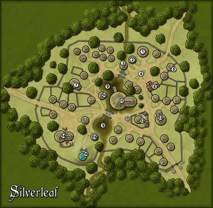 village map town fantasy forest rpg maps 5e google dnd dungeon roll20 villages ak0 elf dd recherche visit c4 cartographersguild