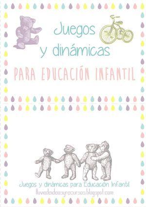 Recopilación de juegos y dinámicas para Educación Infantil III