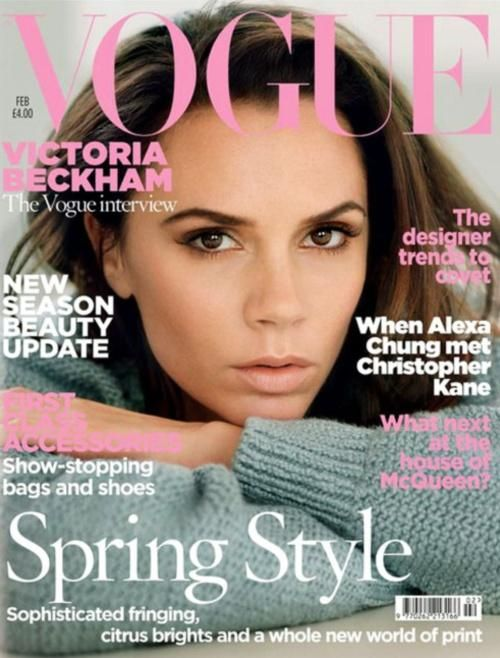 Victoria Beckham - February 2011 Vogue UK cover