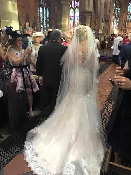 Ronald Joyce Erin wedding dress for sale uk 12 - Wedding Forum | You & Your Wedding