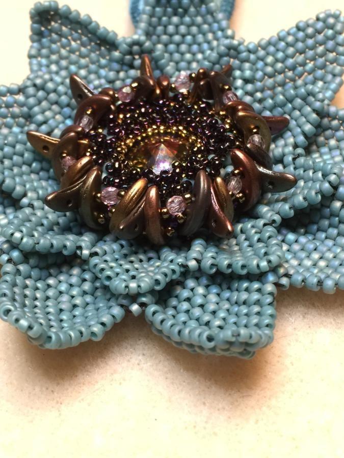 Lotus Flower Pendant by bojanli
