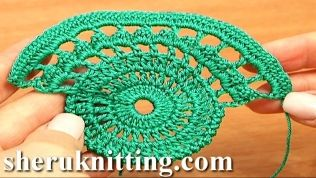 Crochet Compass Tape Tutorial 9 Part 1 of 2