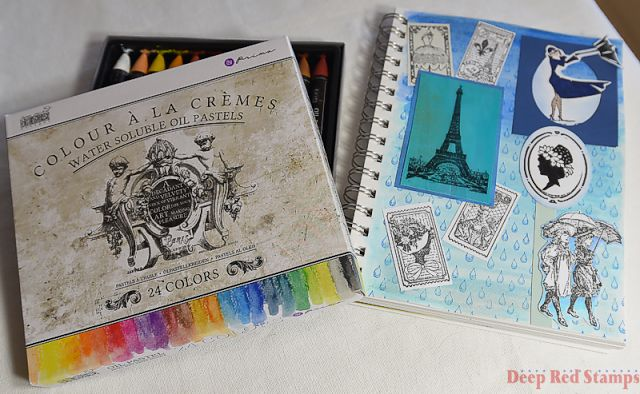 Rainy Day in Paris Journal Page