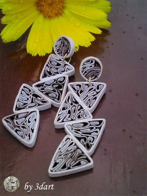 Quilling jewellery