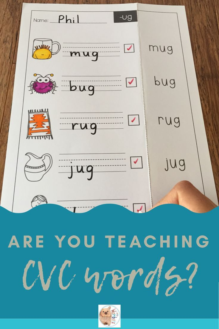 Cvc Look Say Cover Write Check Worksheets Word Families Rhyming Activities Cvc Words [ 1102 x 735 Pixel ]