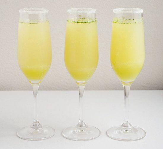 Limoncello Champagne Cocktail Recipe