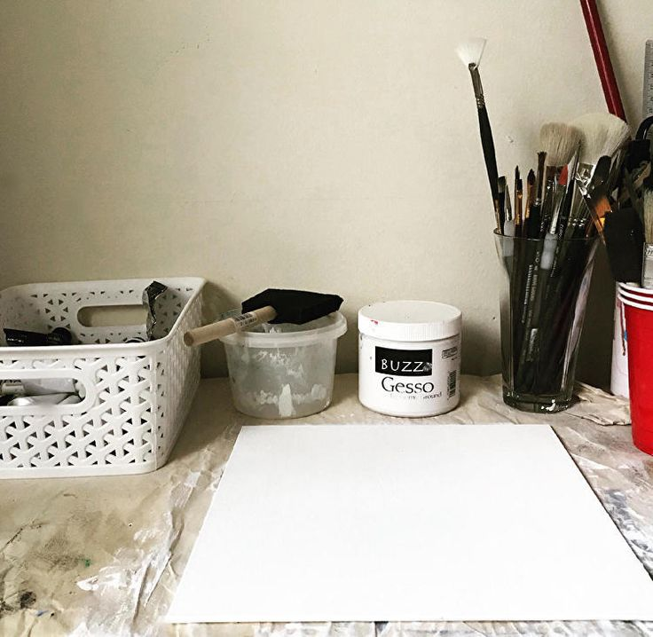 How I Prime My Canvases | Step by Step | My method for priming a canvas