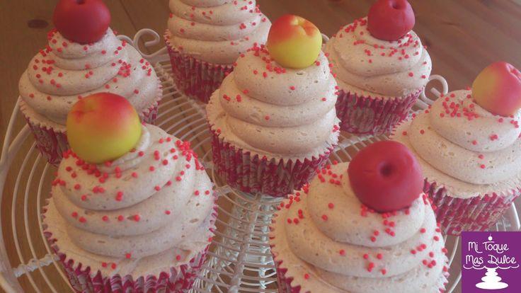 Mi Toque Mas Dulce: Receta de cupcakes de manzana y canela