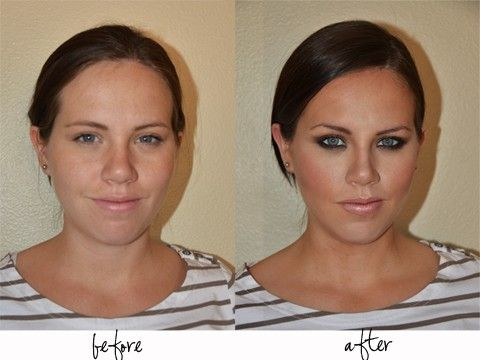 Makeup tips! Holy crap I need this…she doesn't even look like the same girl!