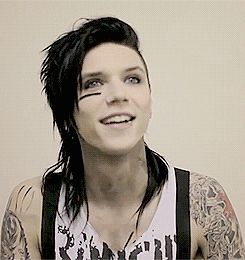 He has an amazing laugh | Andy Biersack
