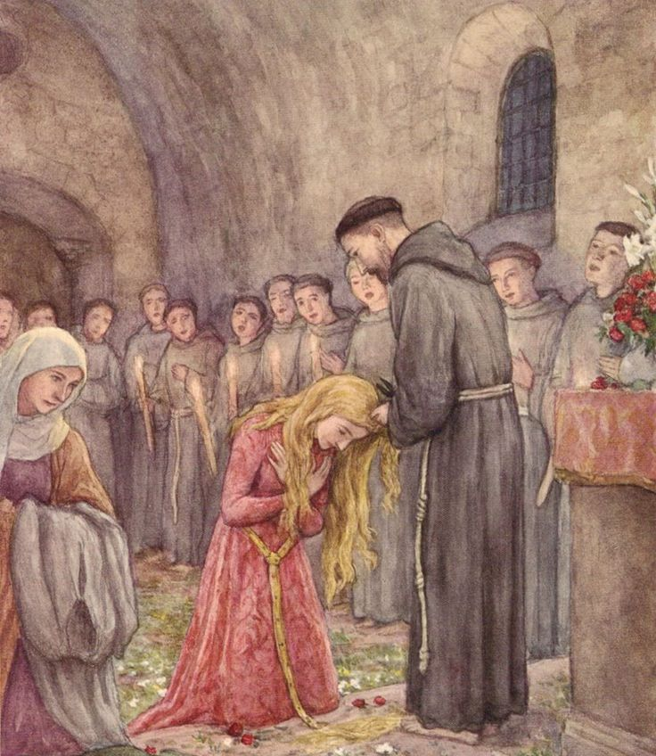 Sts Francis and Chiara Pray for Us!     How beautiful!  And St Francis be our Prayer!