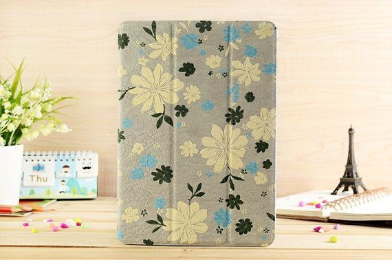Ultrathin Light Yellow Floral Flip Leather by SereneLifeDesign, $33.99