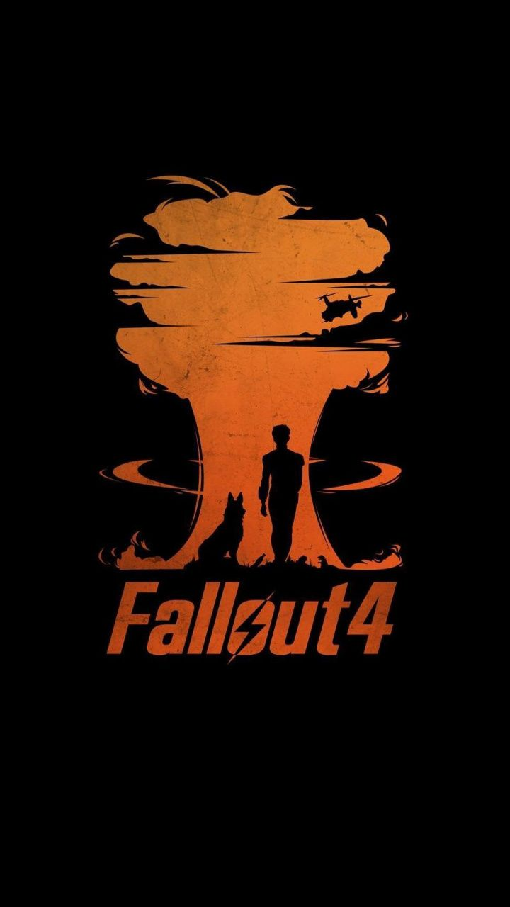 720x1280 Fallout 4 Video Game Minimal Wallpaper Minimal Wallpaper Gaming Wallpapers Iphone Wallpaper