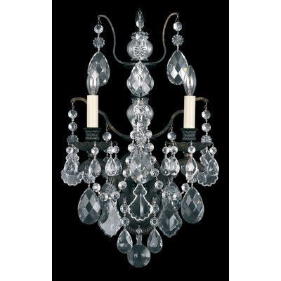 Schonbek Bordeaux 4 Light Crystal Chandelier Crystal Type: Legacy Clear, Finish: Heirloom Bronze